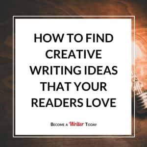 good ideas for a creative writing piece