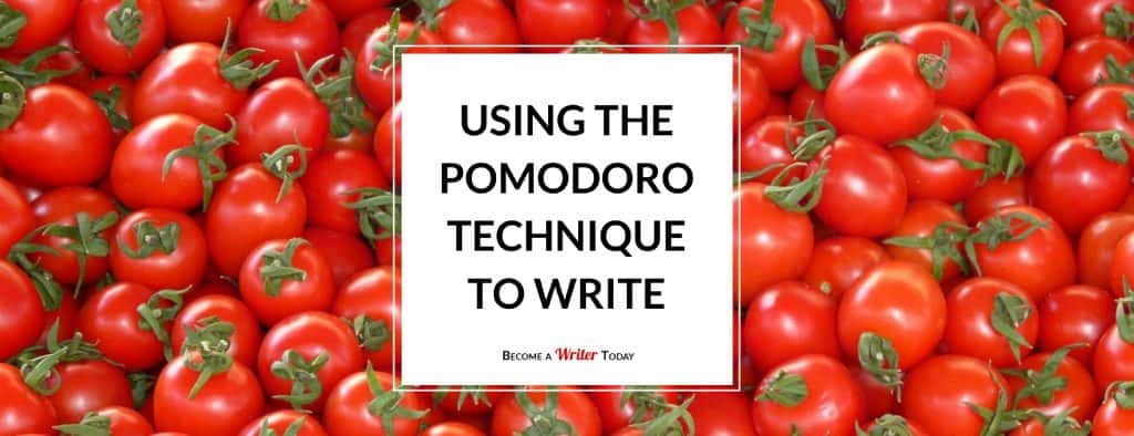 Using the Pomodoro Technique to Write