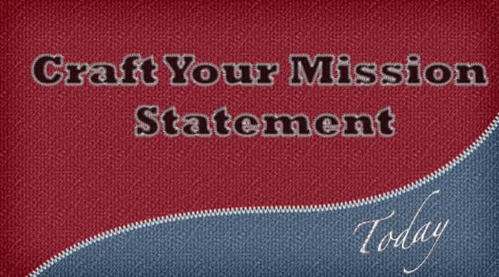 Write a Personal Mission Statement