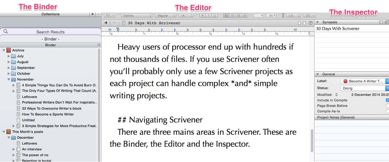 using scrivener for blogging the ultimate how to guide become a