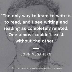 John McGahern on writing
