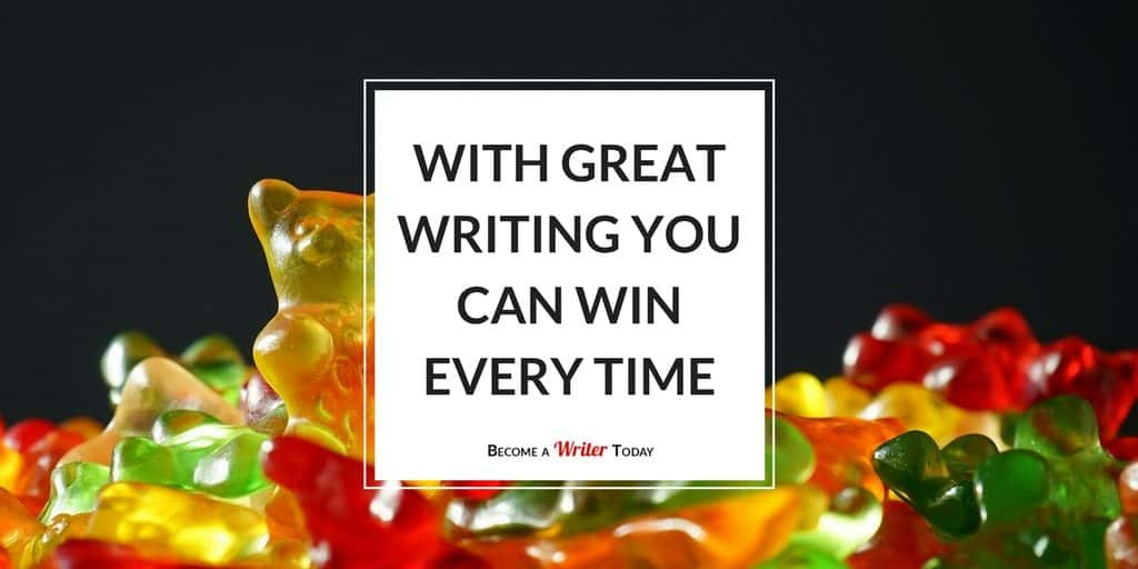 With Great Writing You Can Win Every Time