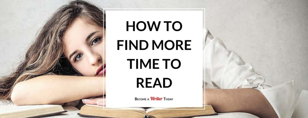 How to find more time to read