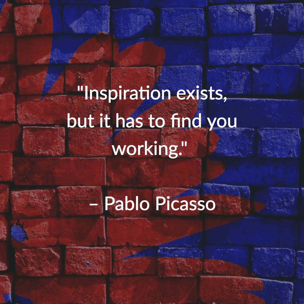 Picasso Quote Instagram