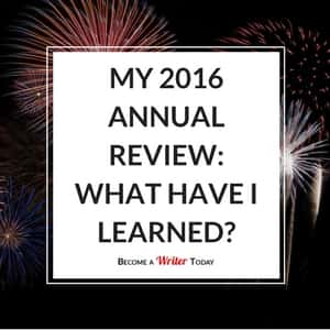 My 2016 Annual Review