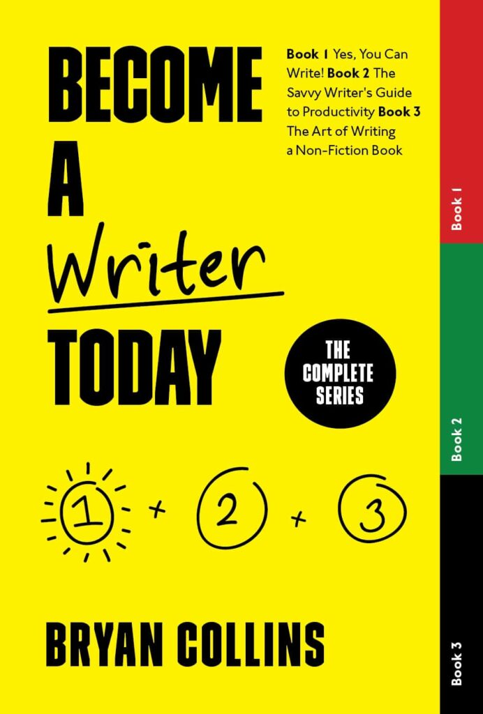 Become a Writer today: My book