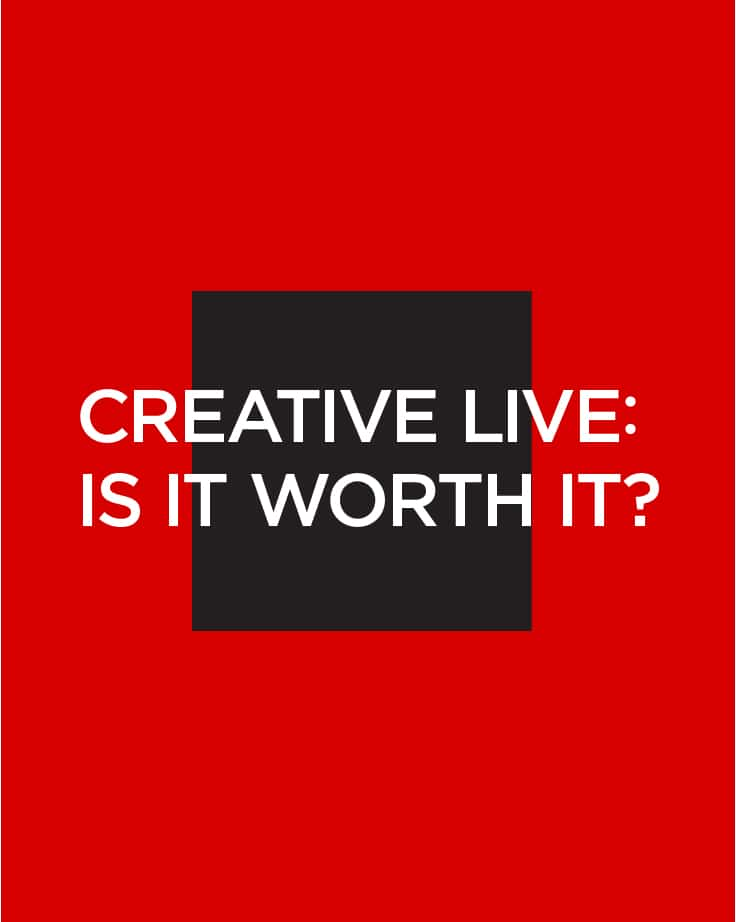 Is CreativeLive worth it?