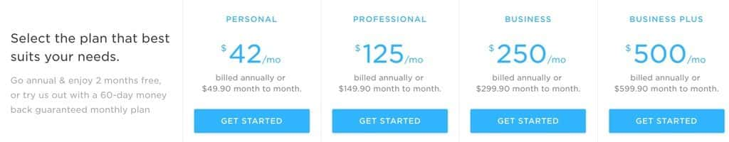 Pressidium pricing