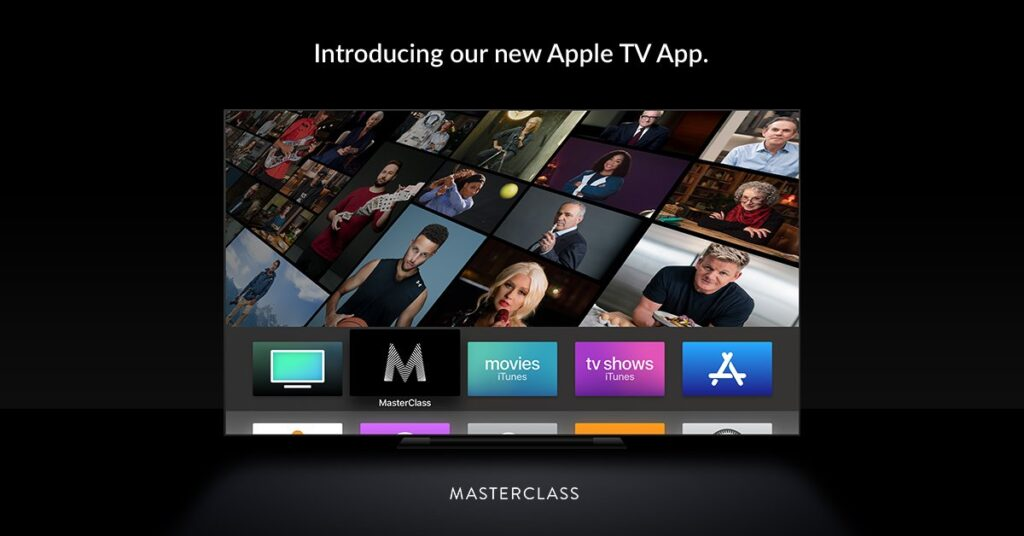 How to watch on Masterclass apple tv