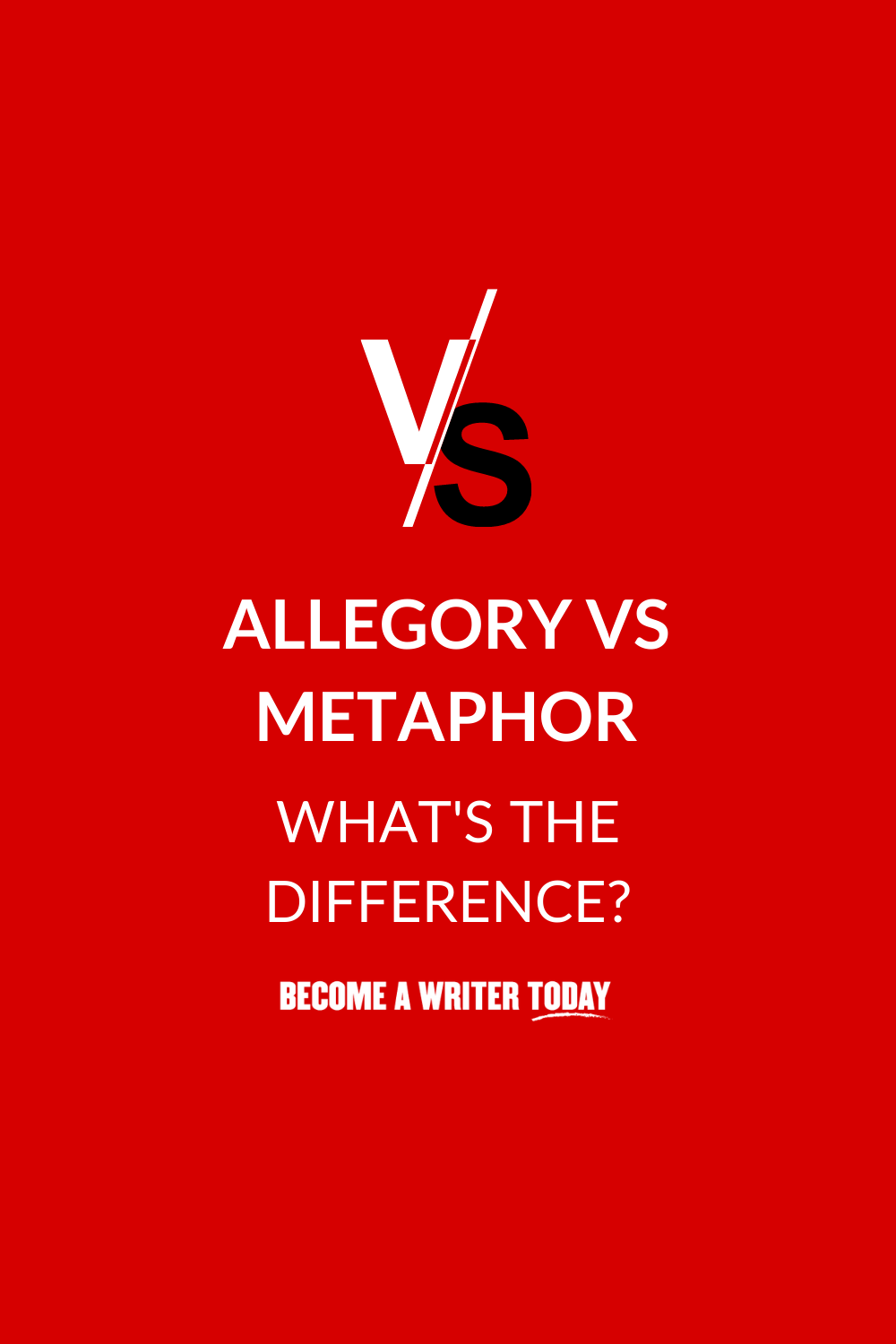Allegory Vs Metaphor: What\'s The Difference?