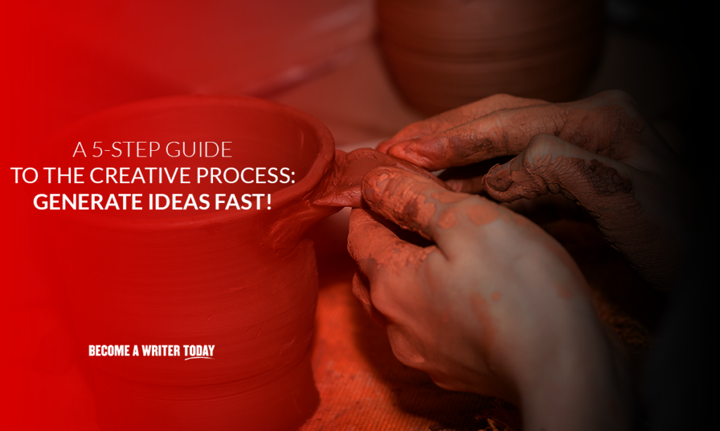 A 5-step guide to the creative process generate ideas fast!