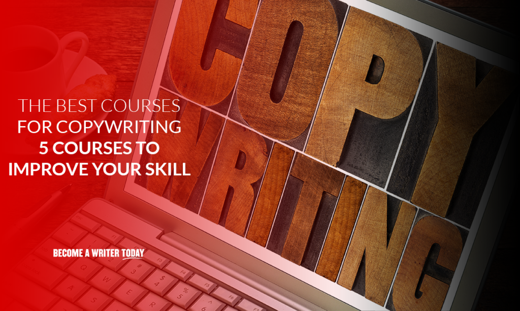 The best courses for copywriting – 5 courses to improve your skill