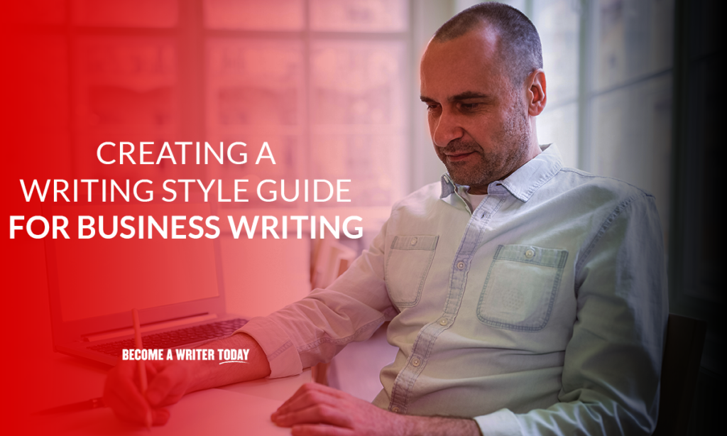 Creating a writing style guide for business writing