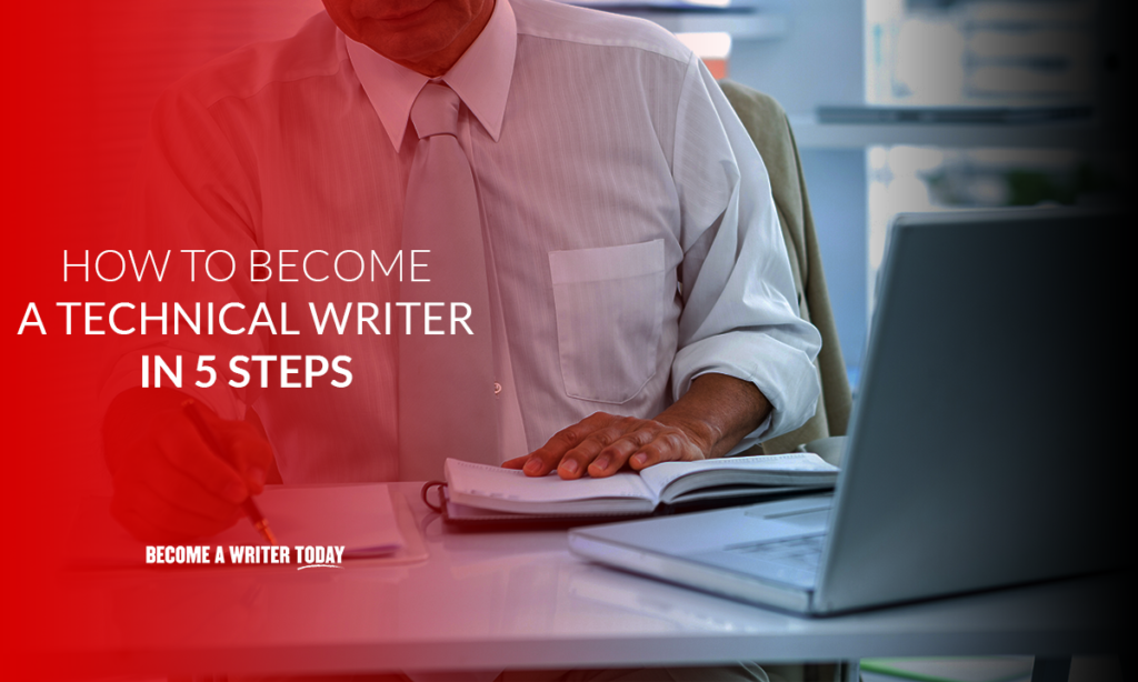 How to become a technical writer in 5 steps