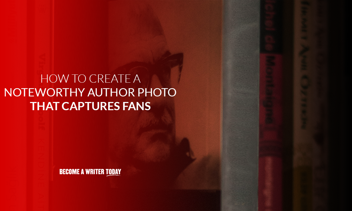 How to create a noteworthy author photo that captures fans