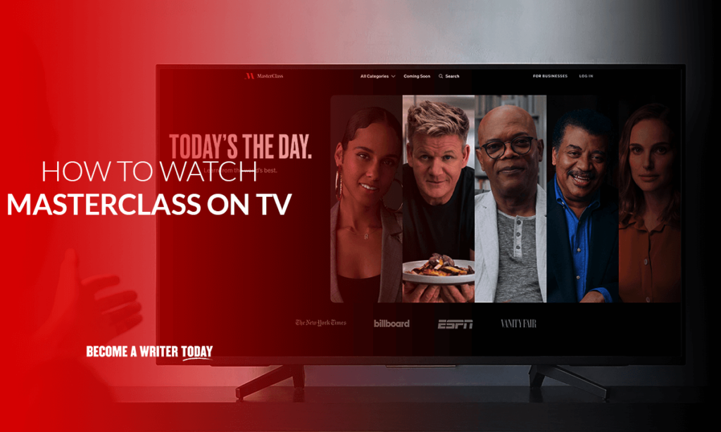 How to watch Masterclass on tv