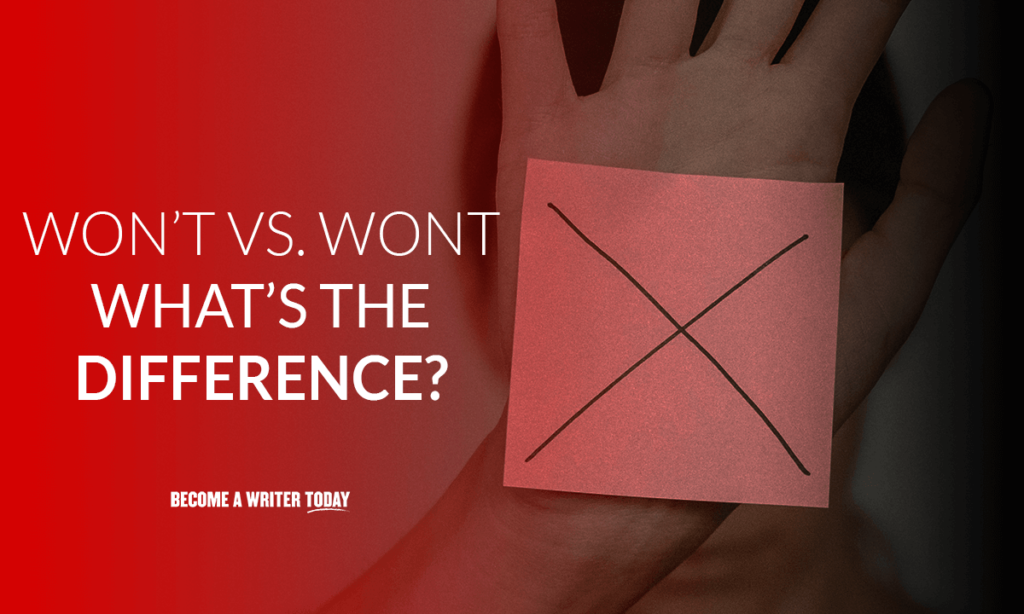 Won't vs wont: what's the difference?